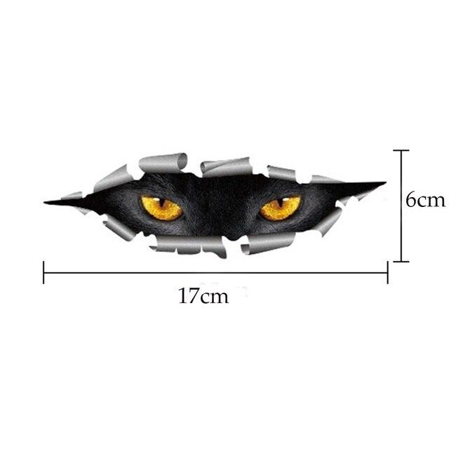 3D Car Styling Cat Eyes Sticker 8