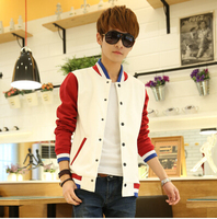 2016 New Men Causal Baseball Jacket Fashion Famous Brand Coat Style Drop Shipping