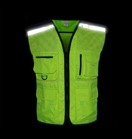 New Night Reflective Safety Vest/Reflective jackets Riding motorcycle sport warning reflective vests max309cse page 3