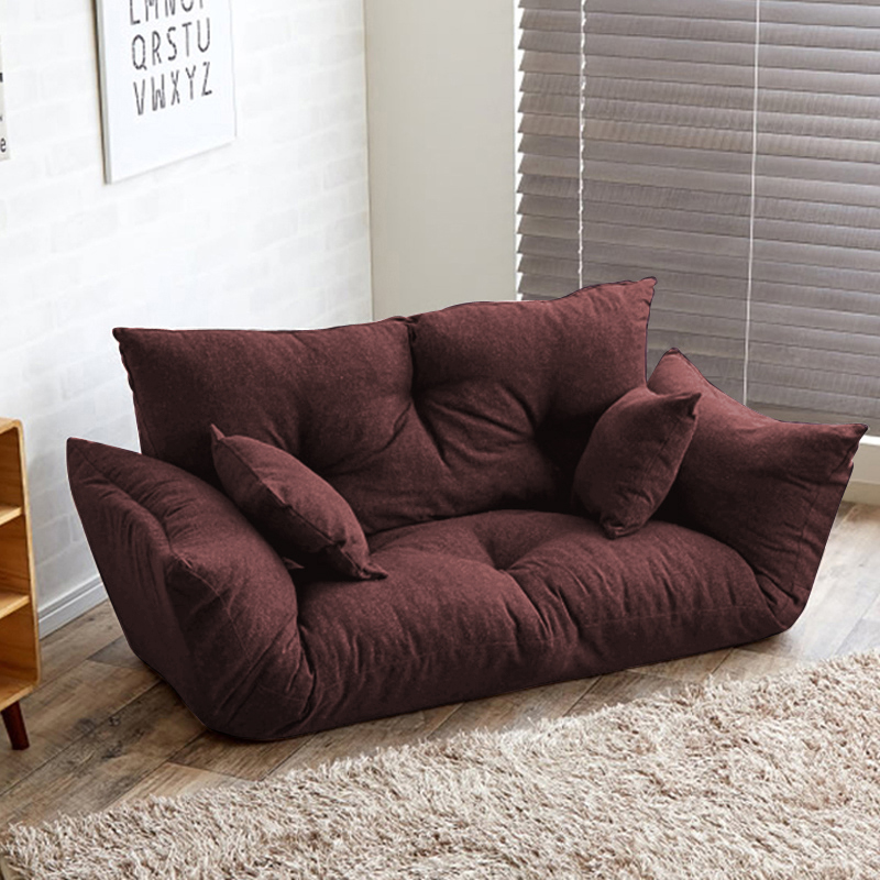 Attirant Modern Folding Sofa Bed Adjustable Arm Reclining Back Living Room Furniture  Home Double Sofa Couch 2 Seat Living Sofa Lounge In Living Room Sets From  ...