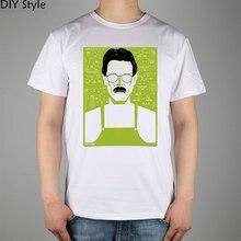 Breaking Bad Walter White The Pitiful Chemistry Teacher Fan Art t-shirt Top Lycra Cotton Men T Shirt New Diy Style