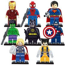 Строительный legoe heroes minifigures marvel мстители действий совместимость детям super блок