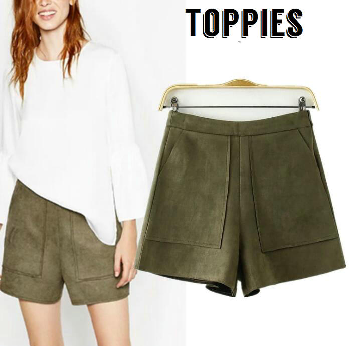 Online Get Cheap Faux Suede High Waisted Shorts -Aliexpress.com ...