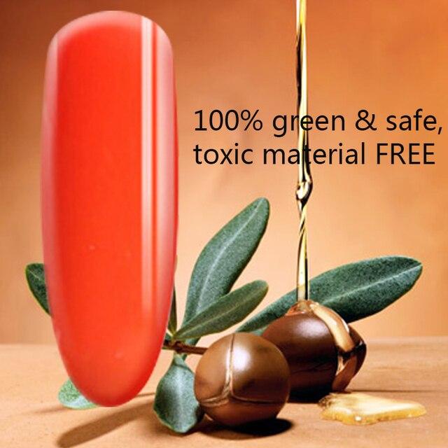 Morocco Argan Nutrition Color Gel Top Coat & Base Coat Long Lasting Nutrition Gel Nail Cover Clean Free Soak Off Nai Gel Polish