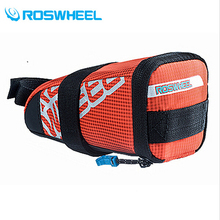 ROSWHEEL Outdoor Waterproof Mountain Road Cycling Saddle Bag Bike Bicycle Under Seat Tail Rear Pannier Accesorios