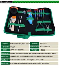 22 in 1 Opening Disassemble Mobile Phone Repair Tools Set Multifunction Hand Kit For IPhone IPad HTC Tablet Laptop