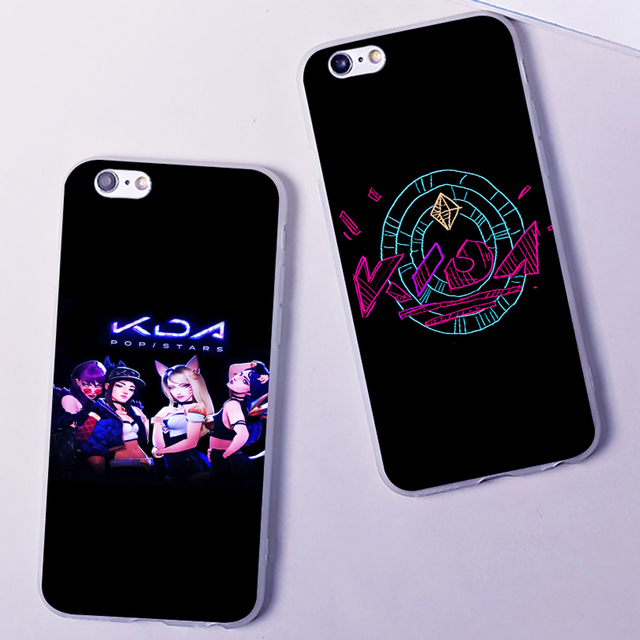 KDA POP STARS LOL new single hard phone case cover for Samsung s8 s9plus S6 S7Edge S5 for iPhone 7 6s 8plus 5s 5c X XS XR XSMAX 3