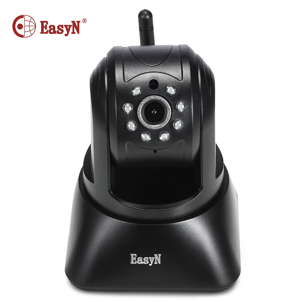EasyN 196 HD720P IP Camera Wireless WiFi Surveillance Cam IP Indoor Security Camera with IR-Cut IR Night Vision Motion Detection new surveillance ip camera pan tilt p2p ir night vision motion detection wireless wifi indoor home security support 64g tf card