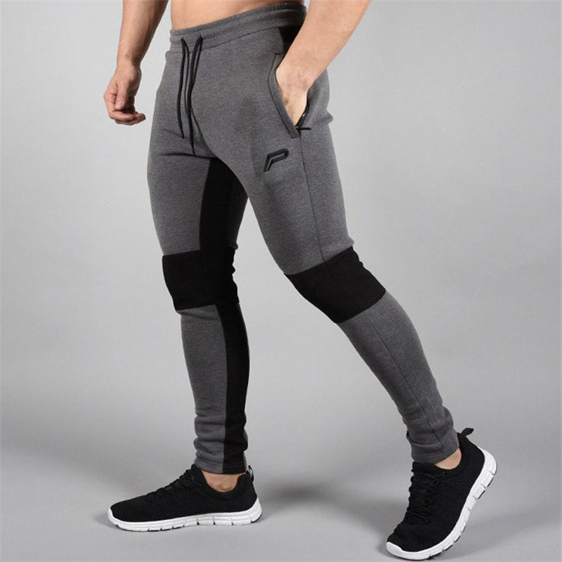 2018 High Quality Jogger Pants Men Fitness Bodybuilding Gyms Pants For Runners Brand Clothing Autumn Sweat Trousers Jogger Pants