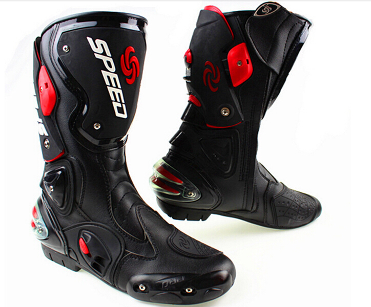 Popular Motorcycle Boots Leather-Buy Cheap Motorcycle Boots ...