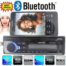 2015 новые Bluetooth автомобильный Радио Bluetooth автомобильного аудио стерео AUX-IN MP3 FM передатчик USB 1 din 12 В в тире mp3 плеер