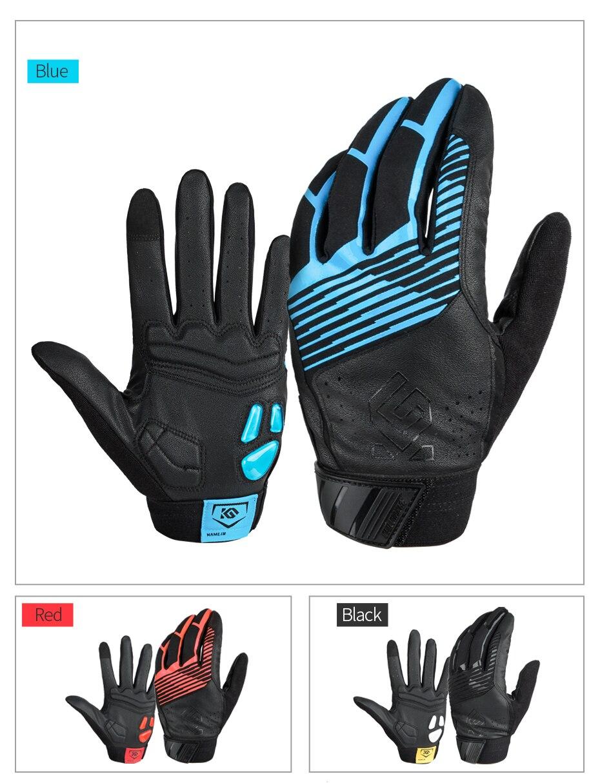 Winter Cycling Gloves Full Finger Touch Screen Sport Thermal Gel Bike Mitten USA