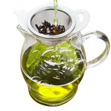 2pcs/set Tea Tools Infuser Stainless Steel Teapot Type Tea Strainer Filter & Teapot Mugs Cups Loose Tea Brewing Tool bar straine