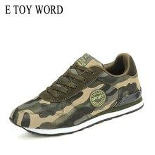 E TOY WORD Fashion Women Sneakers Tenis Feminino Camouflage Sneakers Woman Canvas Flat Shoes Military Training Women Shoes sneakers e goisto sneakers