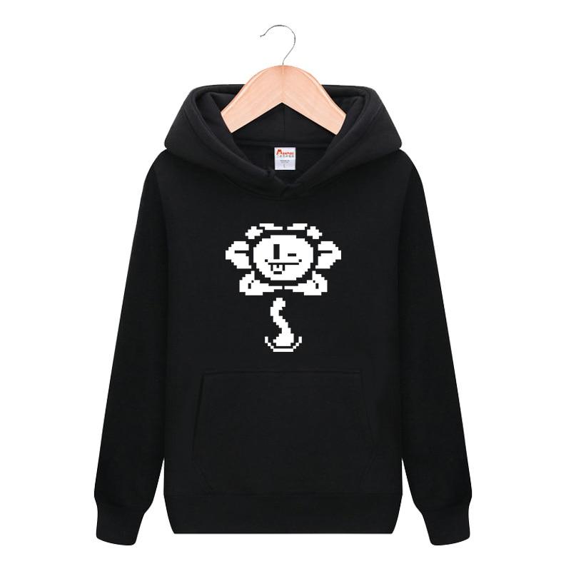 Undertale Sans Cute Print Pullover Hooded Hoodie Cosplay Costume Men Women Casual Sweatshirt Fashion Streetwear