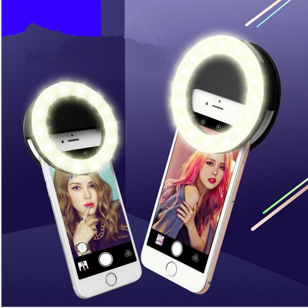Селфи кольцо Зеркало Макияж чехол для Oukitel U16 Max u7 Max <font><b>C2</b></font> C3 C4 C5 Pro K7000 свет