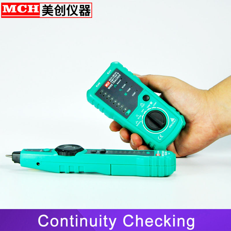 Image 5 - RJ45 Cable Tester Network Lan UTP Tracker Wire Scan Verify Test Telephone Line Finder RJ11 Cat5 Cat6 Wholesale Dropship-in Networking Tools from Computer & Office