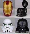 Wars Mugs Darth Vader Stormtrooper Iron Man 3D Solid Friendly Plastic Water Coffee Cup 4 Designs
