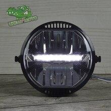 Universal Motorcycle Modern retro style modification LED headlight driving light CR150