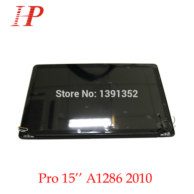 New A1286 Full LCD Screen Assembly For Apple Macbook Pro 15'' LCD Display Assembly 2010 MC371 372 373 Replacement