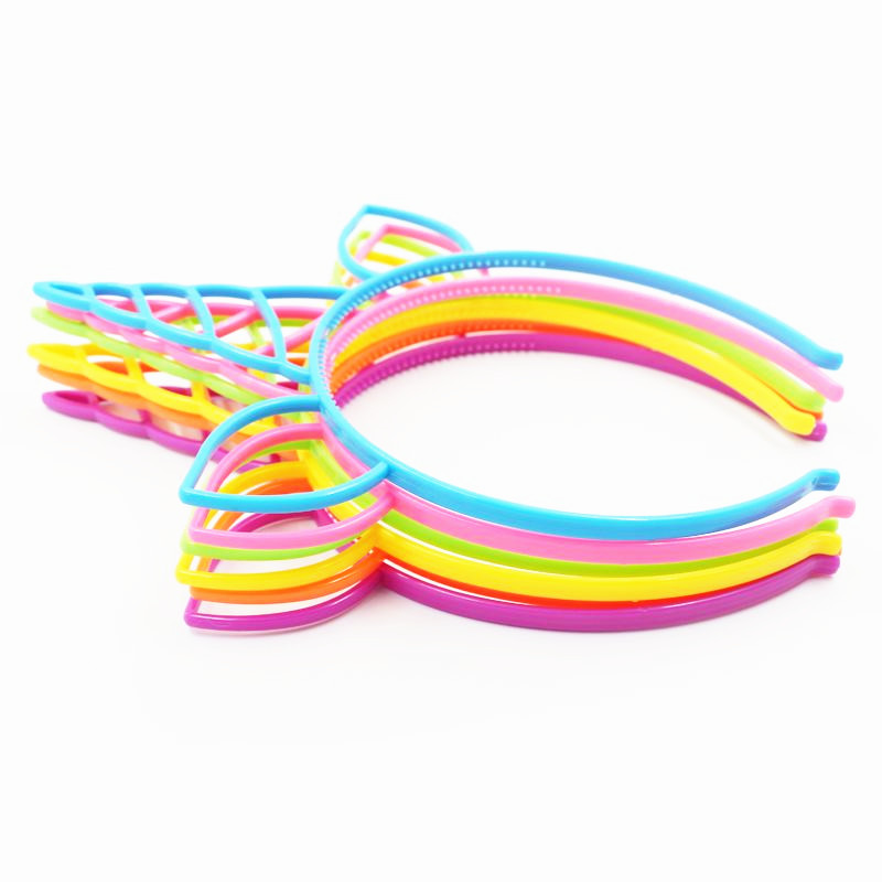 Image 2 - 6pcs Unicorn Party Decoration Unicorn Headband Birthday Party Decorations Kids Baby Shower Kids Favors Festive Party Supplies-in Party DIY Decorations from Home & Garden