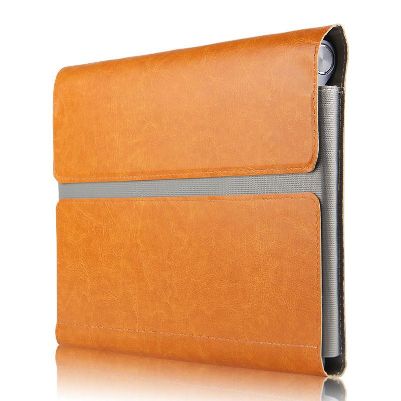 Lenovo Yoga B6000 Için Koruyucu Akıllı kapak Deri Tablet Için - Tablet Aksesuarları - Fotoğraf 6