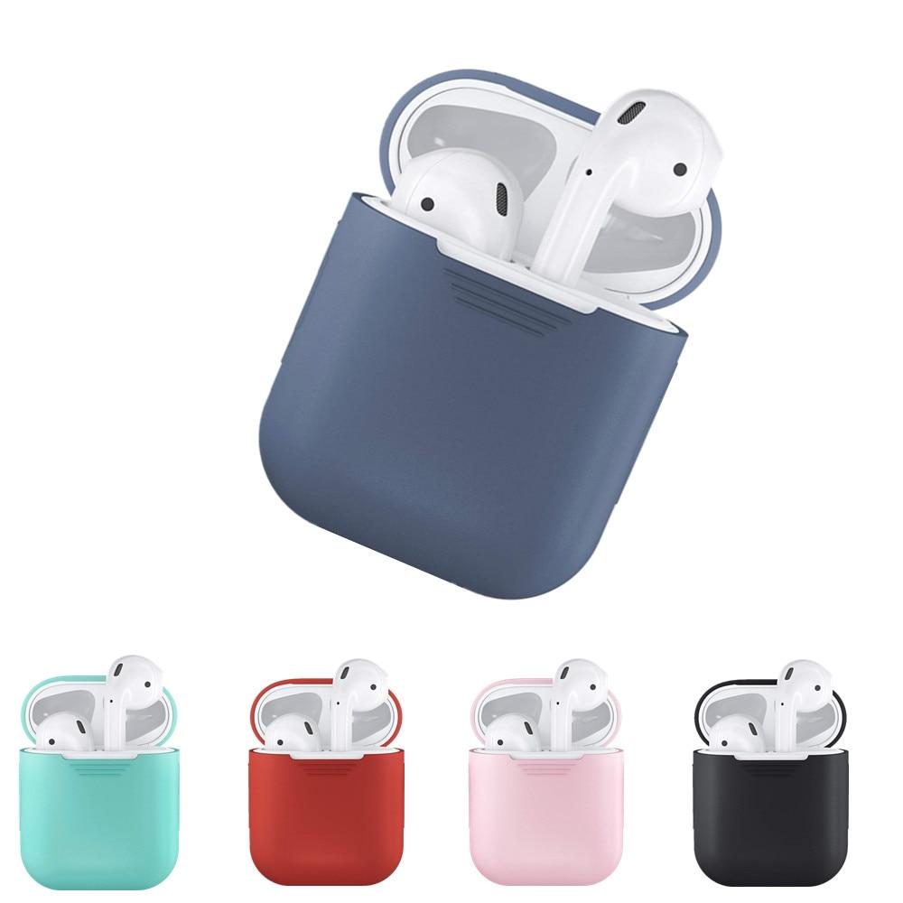 Airpods silikonska bluetooth brezžična slušalka za slušalke - Prenosni avdio in video - Fotografija 3