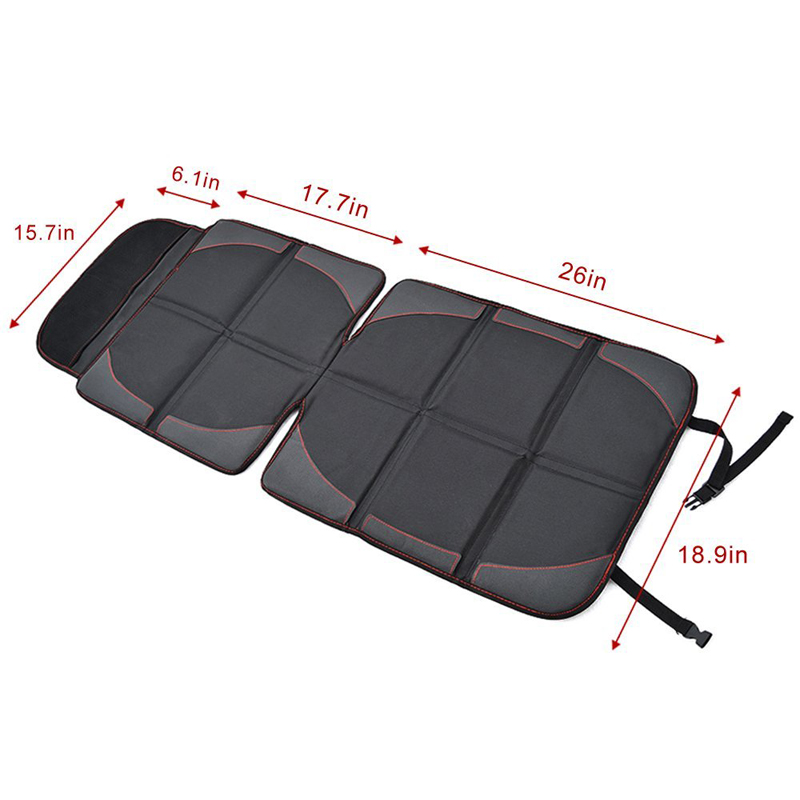 Preimum Car Seat Protector baby Car Seat Protection Pad Thick Seat Mat Pad Cover With Pockets, Waterproof Material Easy to Clean
