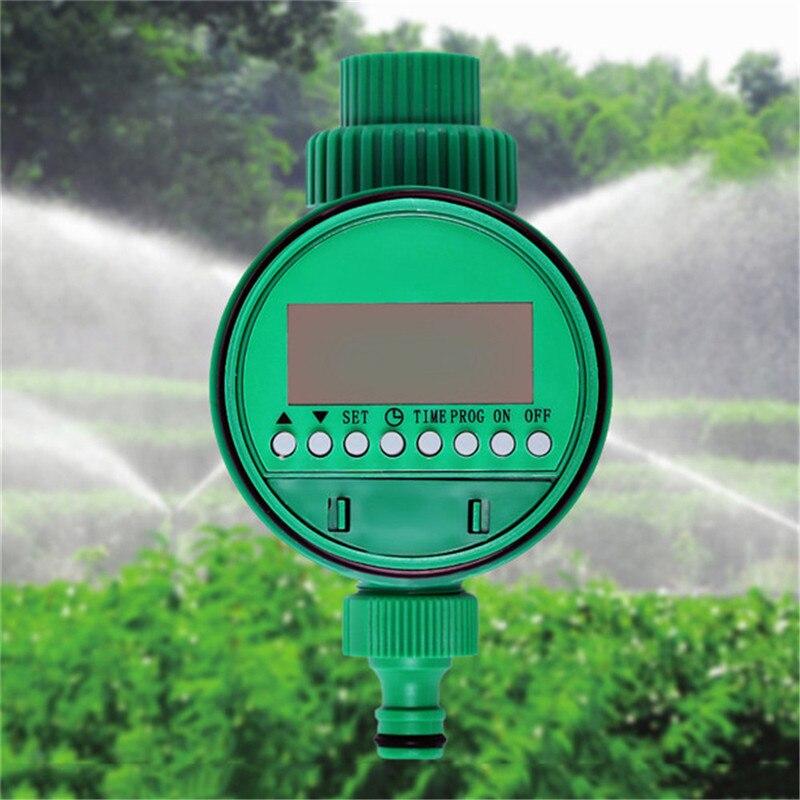 Erste Timing Automatische Elektronische LCD Display Intelligente Wasser Timer Garten Bewässerung Timer Bewässerung Controller System