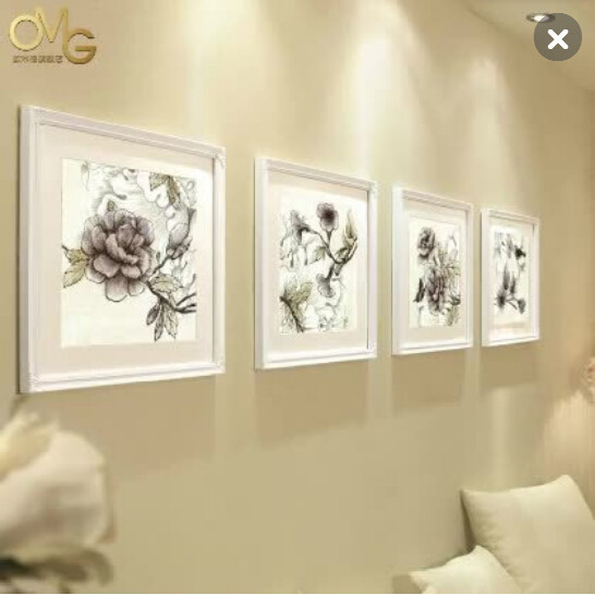 Decorating Wooden Picture Frames,White Classical Studio Decor Frames ...
