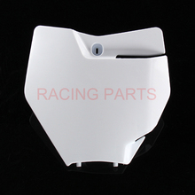 Front Name Number plate panel Dirt Bike Motocross Enduro Motorcycle For  2016 2017 MXSX SXF 125 250 350 450 530
