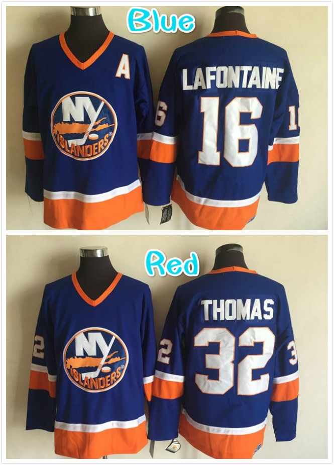 86a017711 ... Mens 16 Pat LaFontaine 32 Julius Thomas Embroidery Hockey Jersey Blue  Mens Reebok Pat Lafontaine Authentic Green NHL Jersey Buffalo Sabres ...
