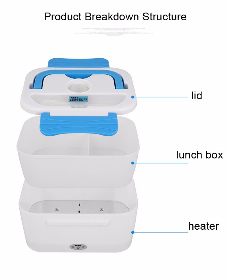 Image result for Portable Multi-Function Electric Lunch Box And Food Warmer