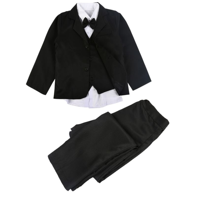 Baby Clothes Set High Quatity Baby Boy Classic Formal Dress Kids Blazers Jackets Boys Wedding Suit Children Outerwear Clothing 5