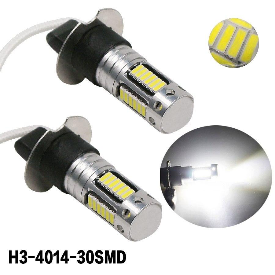 30smd 4014 h3 led substituição lâmpadas para