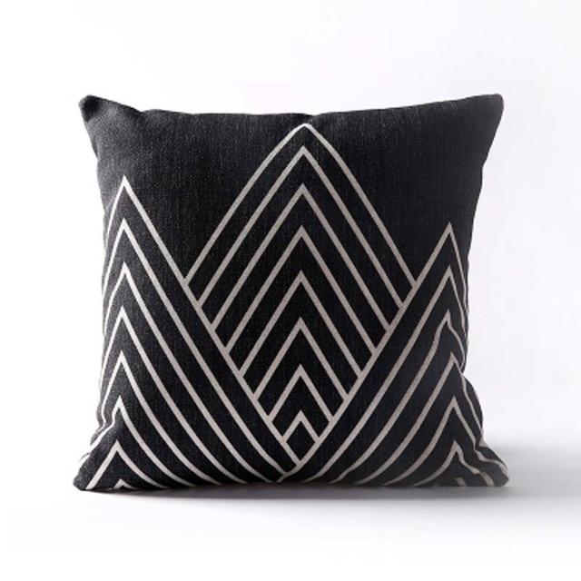 Nordic Geometric Decorative Pillowcase Size: 45CM WT0042 Color: 13