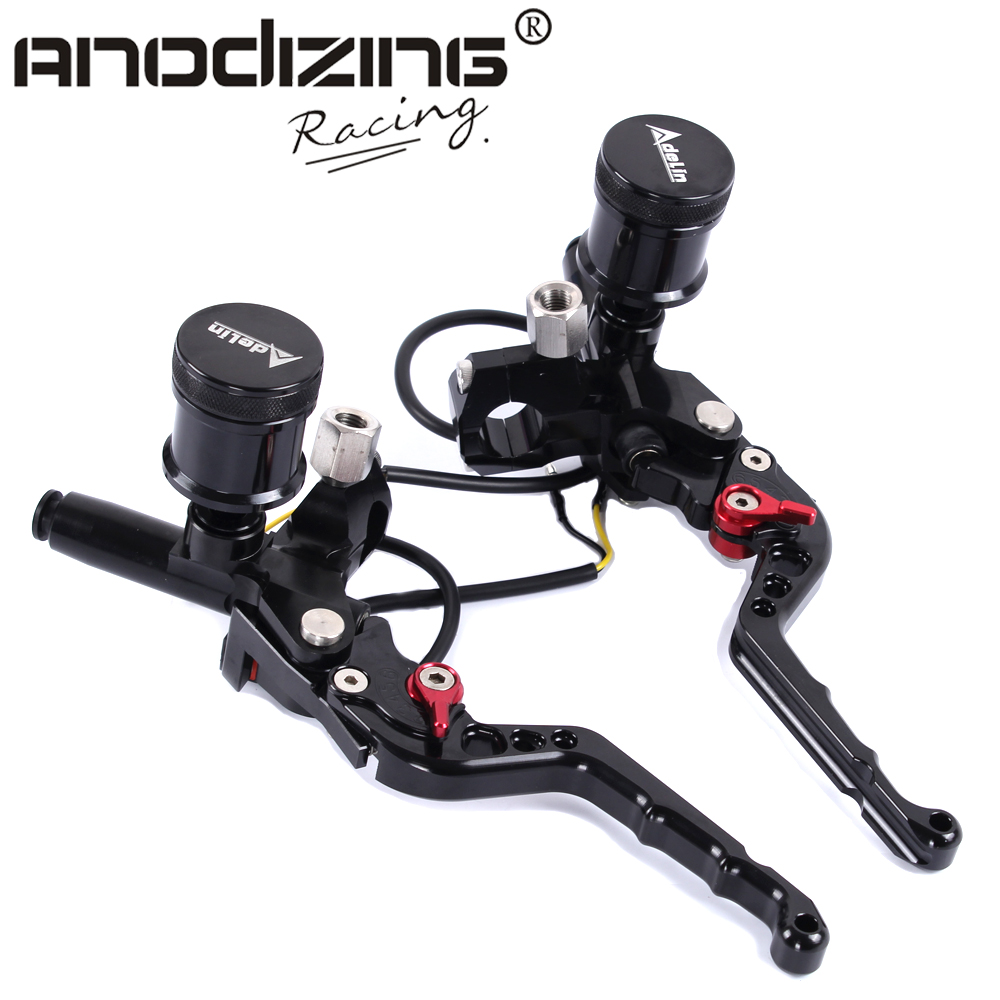 7 8 Adelin Front Brake Clutch Hydraulic Master Cylinder Lever