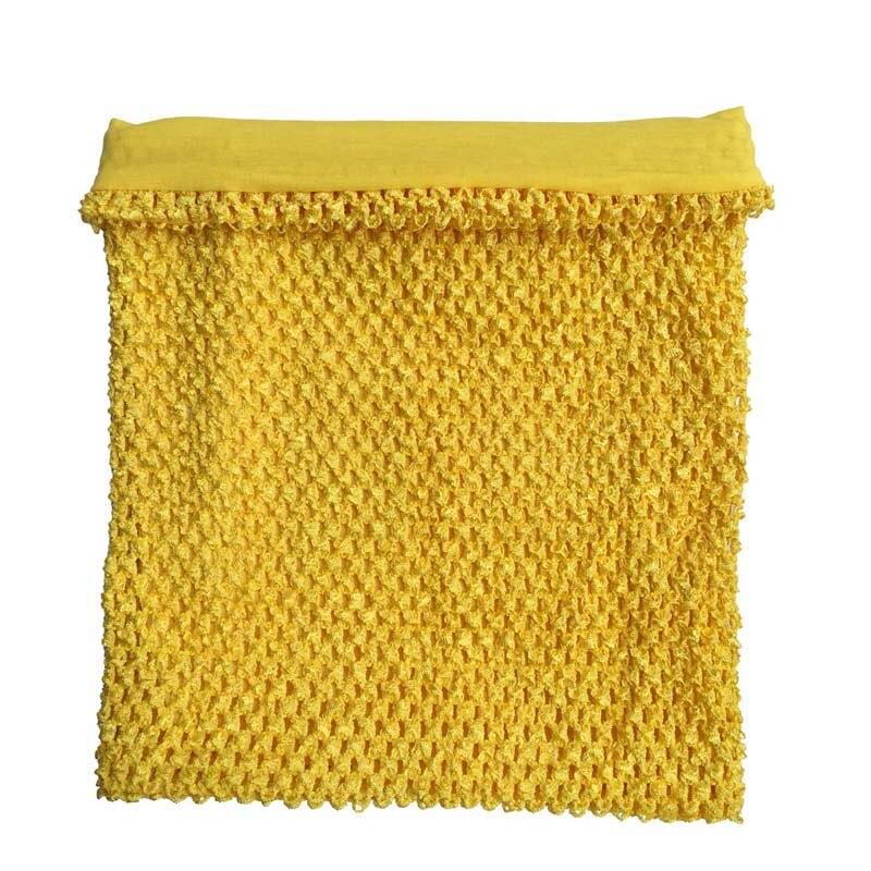 9x10 Inches Lined Crochet Tube Top Tutu Top Baby Girls Crochet Pettiskirt Tutu Tops Mixed Color 50pcs Per Lot