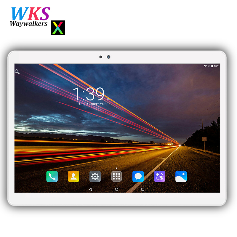 Waywalkers 10 inch tablets Android 7.0 Octa Core 4GB RAM 64GB ROM 1280*800 IPS GPS 3G/4G Phone Tablets pc 10 10.1 free shipping lnmbbs 8 inch tablet sims android 7 0 cheap tablets with free shipping lte 4g eight core 1280 800 2g ram 32g rom wifi game play