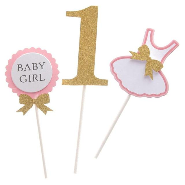 Aliexpresscom Buy Cute BABY GIRL 1st Birthday Clothing Party