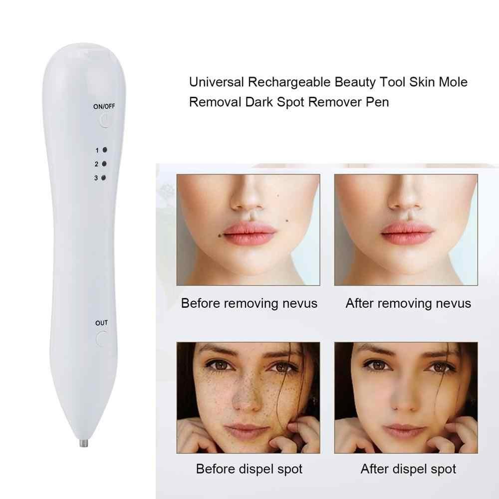 Laser Sproet Verwijdering Machine Huid Mol Verwijdering Dark Spot Remover voor Gezicht Wart Tag Tattoo Remover Pen Salon Schoonheidsverzorging massage