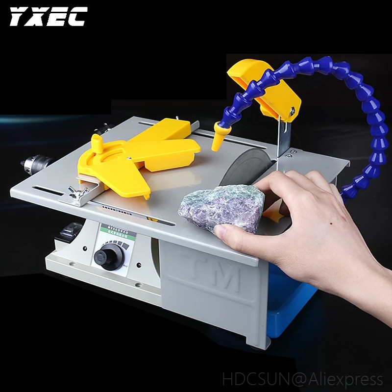 850W Multifunction Mini Table Saw Stone Polisher Jade Engraving Machine Grinding machine Table Saws Jade Cutting