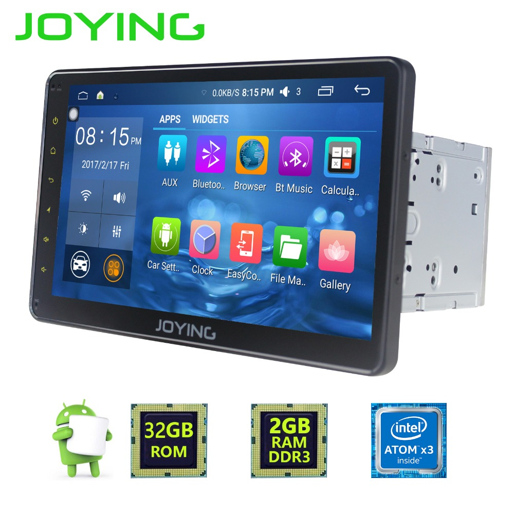 JOYING 10 1 2GB 32GB 2 DIN Android 6 0 GPS Navigation Universal Car Radio Stereo