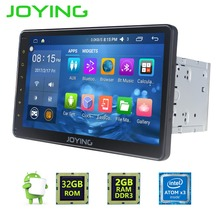 JOYING 10.1″2GB+32GB 2 DIN Android 6.0 GPS Navigation Universal Car Radio Stereo Bulit-in Amplifier HU Support Video output