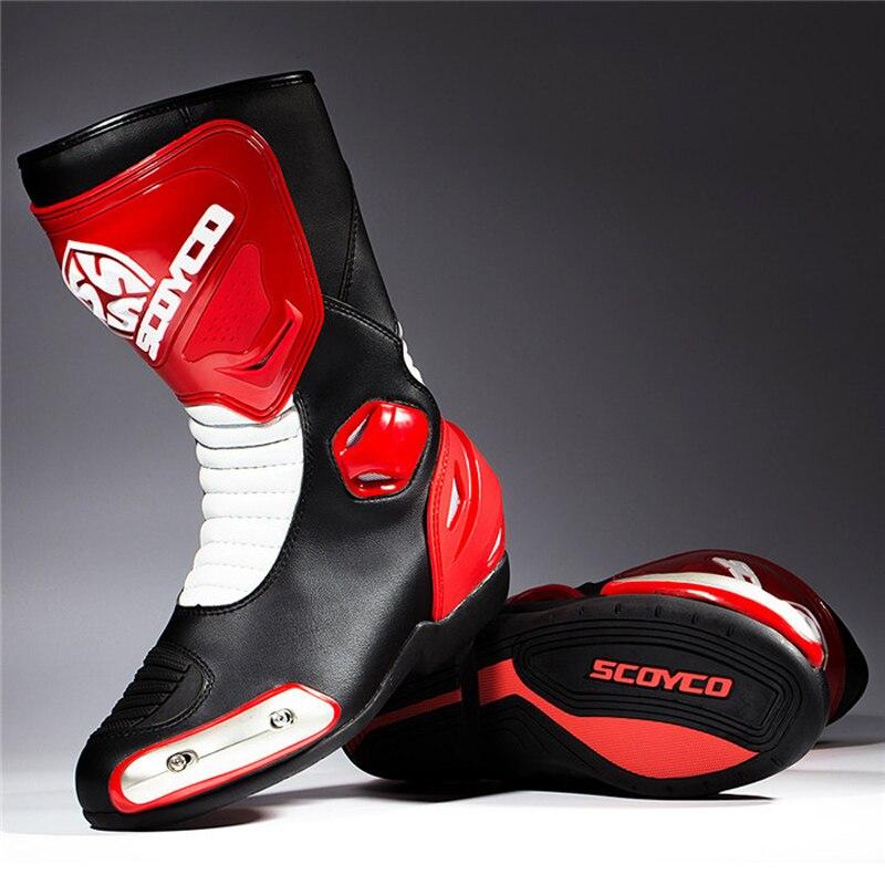 Scoyco MTB004 Motorrad Motos Racing Stiefel Motocross OFF Road Reiten Motorrad Schuhe Motocicleta Botas