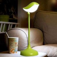 Amazing Design Small Bird Light Intelligent Rechargeable Sensor Nightlight Smart Touch LED Energy Saving Table Lamp