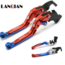 CNC Motorcycle  Extendable Handle Brake Clutch Levers For honda CRF1000L AFRICA TWIN 2015 2016 2017 for
