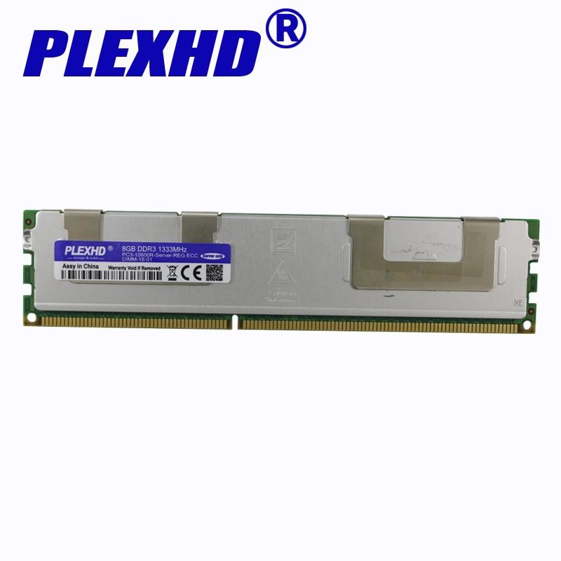 radiator REG ECC server memory original chipset for SEC HY MIC 8GB DDR3 1333MHz 1600Mhz 1866Mhz 8G 1333 RAM X79 16GB 16g 32g