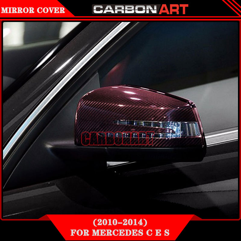 [11.11] W176 W207 W212 W221 W117 X156 X204 W218 W204 carbon fiber mirror cover For mercedes A B C E S CLA CLK CLS CL CLASS цены