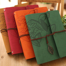2016 New Hot Sale 8 Inch PU Leather Vintage Antique Spiral Kraft Paper Photo Albums for Baby Scrapbooking Home Decor